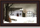 "Framed Print  - ""Christmas Time is Coming"" - Artist Billy Jacobs"