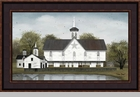 "Framed Print  -  ""Star Barn"" - Artist Billy Jacobs"