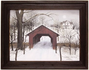"Framed Print  - ""To Grandma's House We Go"" - Artist Billy Jacobs"