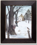"Framed Print   - ""Waiting For Spring"" -  Artist Billy Jacobs"