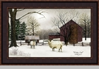 "Framed Print - ""Winter Coat"" - Artist Billy Jacobs"