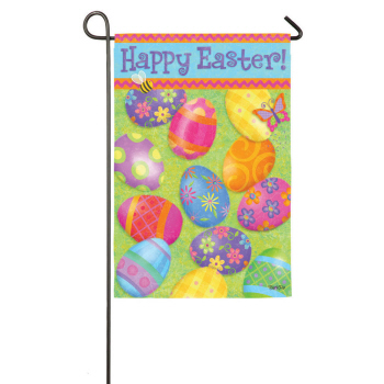 "Garden Flag - ""Happy Easter Mini Flag"""