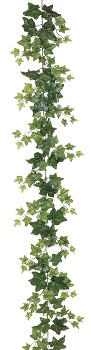 "Garland - ""Puff Ivy Garland"" - 6 ft"
