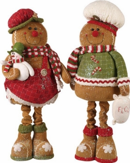 Gingerbread Figurines & Ornaments