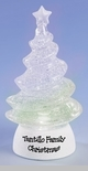 "Glitterdome - ""LED Tree Glitterdome"" - Small  - Can be Personalized"
