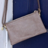 "Handbag - ""Crossbody - Khaki"""