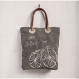 "Handbag - ""Mona B -Paris Streeter Tote Bag"""
