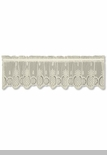 """Heritage Lace - """"Welcome Valance"""" - 60"""" x 15"""""""