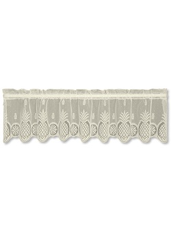 "Heritage Lace - ""Welcome Valance"" - 60"" x 15"""