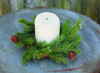 Holiday Candle Rings