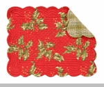 Holiday Placemats and Napkins: Shop Holiday Placemats, Napkins, Table Runners, and More