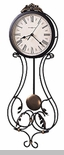 "Howard Miller Wall Clock - ""Iron Banjo- Paulina"""