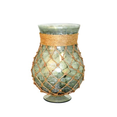 "Hurricane - ""Pescador Hurricane Pillar Candle Holder"""