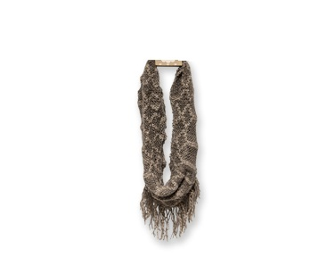 "Infinity Scarf - ""Infinity Fringe Scarf - Caf�"""