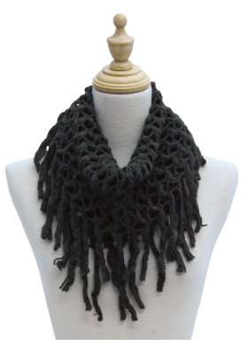 """Infinity Scarf - """"Open Weave Taupe"""""""