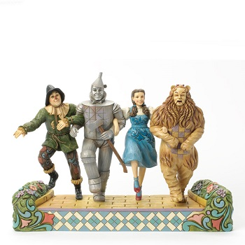 "Jim Shore Figurine - "" OZ - We�re on our way to see the Wizard Figurine"""