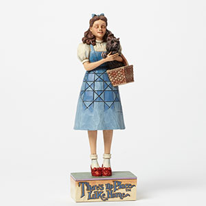 "Jim Shore Figurine - ""There's No Place Like Home - Dorothy Clicking Heels Figurine"""