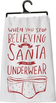 """Kitchen Towel - """"When You Stop Believing Kitchen Towel"""""""
