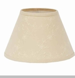 "Lamp Shade - ""Candlewick Lamp Shade"" - 10"""