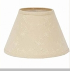 "Lamp Shade - ""Candlewick Lamp Shade"" -14"" - Cream"