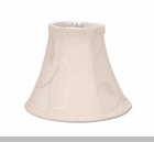 "Lamp Shade - ""Cream  Swirl Leaf Lamp Shade"" - 5"""