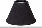 "Lamp Shade - ""Farm House Black Lamp Shade""  -  6"""