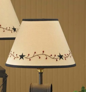 "Lamp Shade - ""Star Vine Lamp Shade"" - 10"""