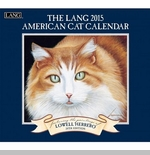 "Lang 2015 Wall Calendar - ""American Cat"" -  Sorry this item is out of stock!"