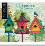 "Lang 2015 Wall Calendar - ""Birdhouses"" -  Sorry this item is out of stock!"
