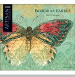 "Lang 2015 Wall Calendar - ""Bohemian Garden"" -  Sorry this item is out of stock!"