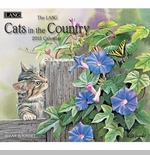 "Lang 2015 Wall Calendar - ""Cats In The Country"""