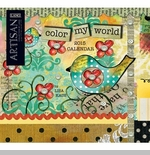 "Lang 2015 Wall Calendar - ""Color My World"" -  Sorry this item is out of stock!"
