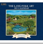 "Lang 2015 Wall Calendar - ""Folk Art"" -  Sorry this item is out of stock!"