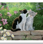 "Lang 2015 Wall Calendar - ""Love Of Cats"""