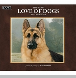 "Lang 2015 Wall Calendar - ""Love Of Dogs"" -  Sorry this item is out of stock!"