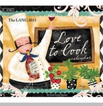 "Lang 2015 Wall Calendar - ""Love To Cook"" - Sorry this item is out of stock!"