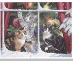"Lang Boxed Christmas Cards - ""Chasing Snowflakes""  - Artist Persis Clayton Weirs"