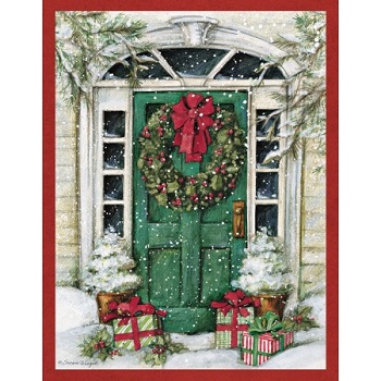"""Lang Boxed Christmas Cards - """"Christmas Surprise """" - Artist Susan Winget"""