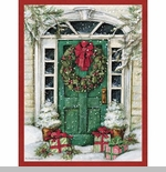 "Lang Boxed Christmas Cards - ""Christmas Surprise "" - Artist Susan Winget"