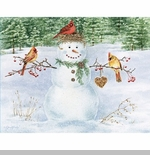 "Lang Boxed Christmas Cards - Happy Snowman"" - Artist  Jane Shasky"