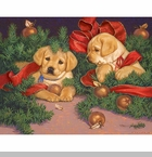 "Lang Boxed Christmas Cards - ""Holiday Havoc"" - Artist Jim Lamb"