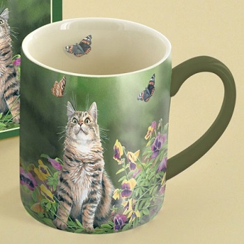 "Lang & Wise Mug - ""Butterfly Dreams"" - Artist Susan Bourdet"