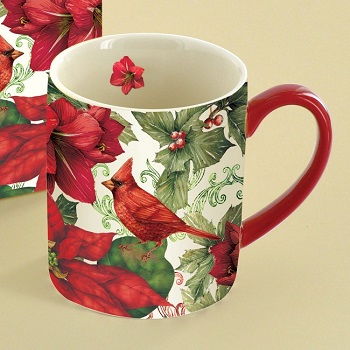 "Lang & Wise Mug - ""Cardinals"" - Artist Tim Coffey"