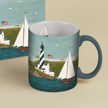 "Lang & Wise Mug  - ""Coastal Breeze"" - Artist  Warren Kimble"