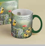 "Lang & Wise Mug - ""Greeting the New Day""  - Artist Susan Winget"