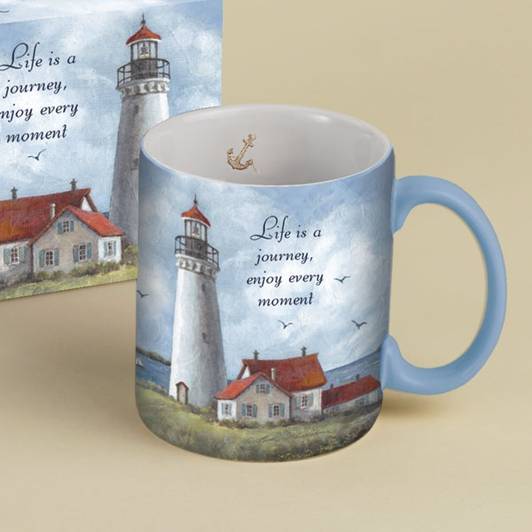"Lang & Wise Mug - ""Guardian of the Sea"" - Artist Betty Whiteaker"
