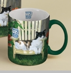 "Lang & Wise Mug - ""Hangin'Out "" - Artist Persis Clayton Weirs"