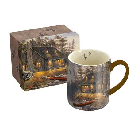 "Lang & Wise Mug - ""Lake Retreat"" - Artist Sam Timm"