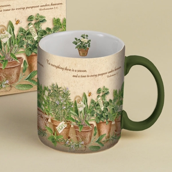 "Lang & Wise Mug - ""Love, Hope, Faith""   - Artist Susan Winget"