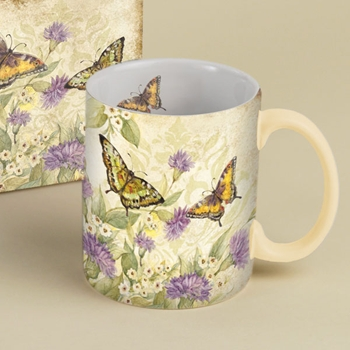 "Lang & Wise Mug - ""Morning Has Broken"" - Artist Susan Winget"
